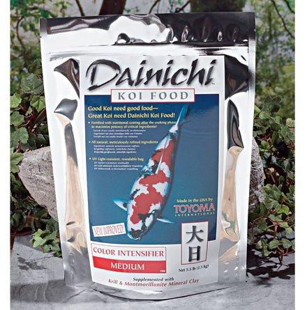 Sheen Intensifier (Dainichi KOI - COLOR INTENSIFIER (5.5 lb) Bag - Medium Pellet)