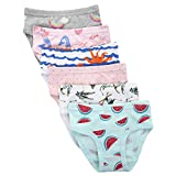 #4: Benetia Girls Underwear Soft Cotton 6-Pack