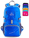 Venture Pal Lightweight Packable Durable Travel Hiking Backpack Daypack (Royal Blue)
