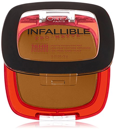 L'Oréal Paris Infallible Pro-Matte Powder, Classic Tan, 0.31 oz. (L Oreal Infallible Pro Matte Foundation Classic Tan)