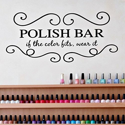 Nail Salon Decor, Nail Gifts for Girls, Beauty Salon Decal, Pedicure Gift Ideas, 24
