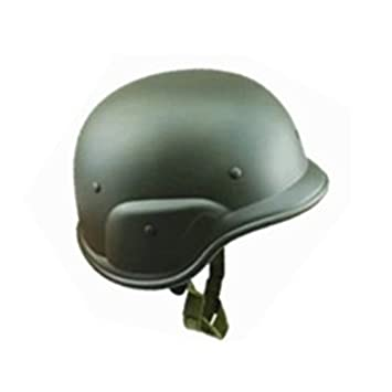 SDYDAY CS Field Army Cascos, M88 Casco de Camuflaje de plástico Gorro de Guerra Casco de Moto para Militar Fancy Dress Airsoft Paintball, ...