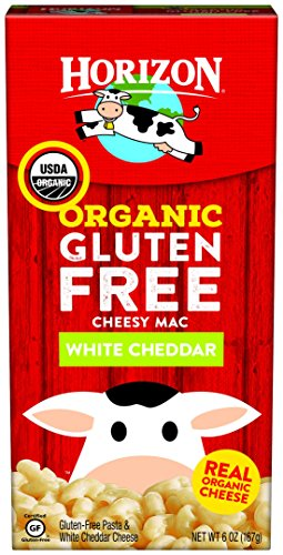 Horizon Organic Mac Cheese, Macaroni and White Cheddar, 6 Ounce (Pack of 12)