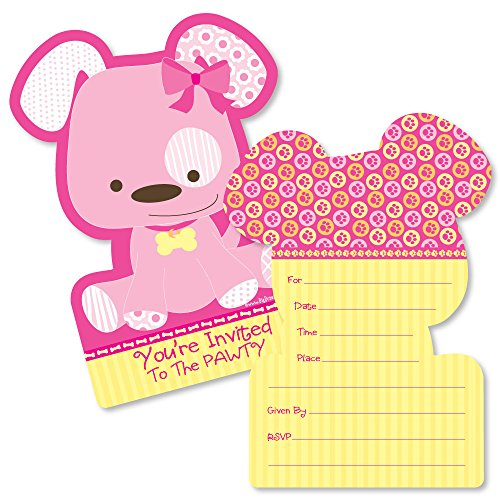 ped Fill-In Invitations - Baby Shower or Birthday Party Invitation Cards with Envelopes - Set of 12 ()