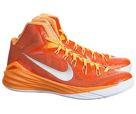 big sale c9283 70541 ... inexpensive nike mens hyperdunk 2014 tb basketball shoes orange blaze  metallic silver bright citris 653483 808
