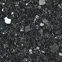 "Fireglass for Fire Pits Black 1/4"" ..."