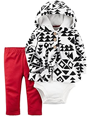 Baby Girls' 3 Piece Cardigan Set (Baby)