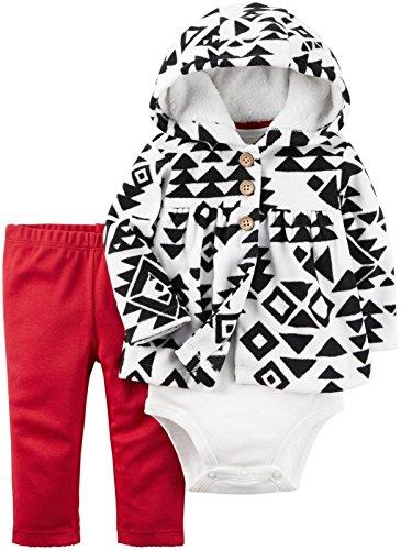 - Carter's Baby Girls' Cardigan Sets 121g768, Black 3 Months