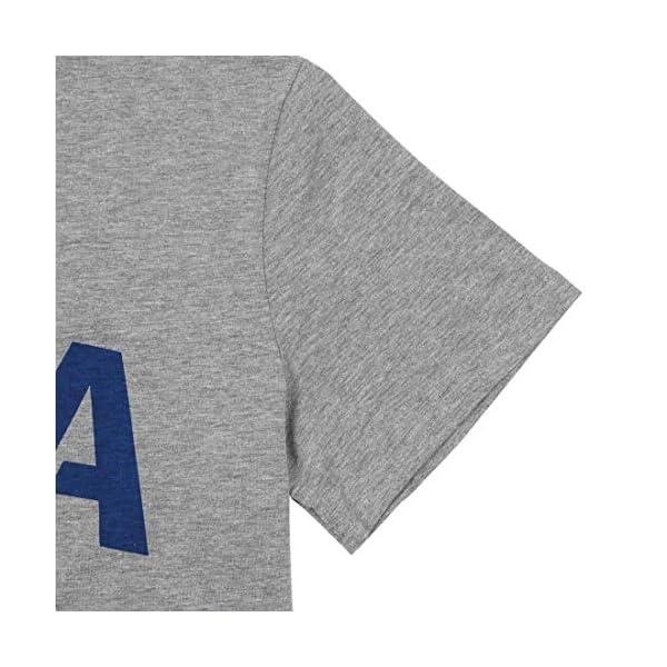 BLANCHES American Flag Tshirt for Women USA Flag Graphic Print Shirt Patriotic Casual Short Sleeve Tee Shirt