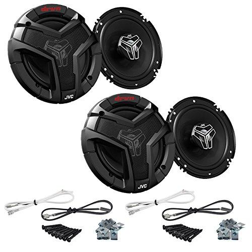 2 Way 40w Car Speakers (Pair of JVC CS-V628 6.5