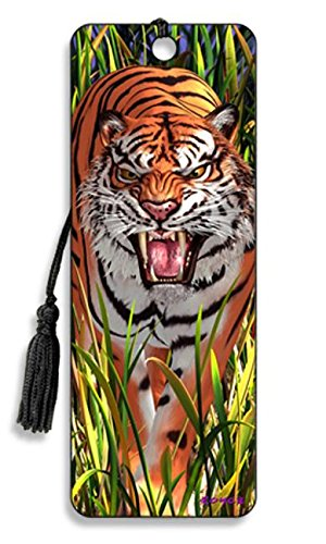 Artgame - Tiger Trouble - 3D Bookmark]()
