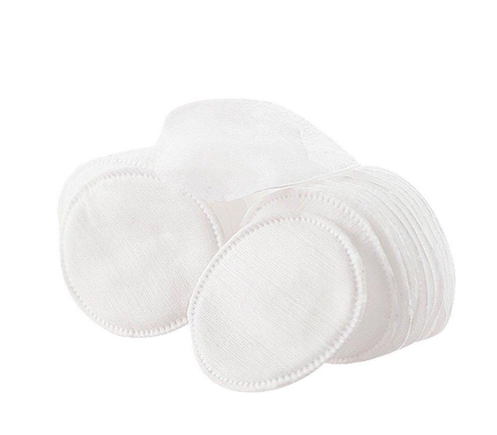 80 Pcs Circular Organic Cotton Puff Facial Makeup Cotton Pads Remover Cleansing Cotton Elandy