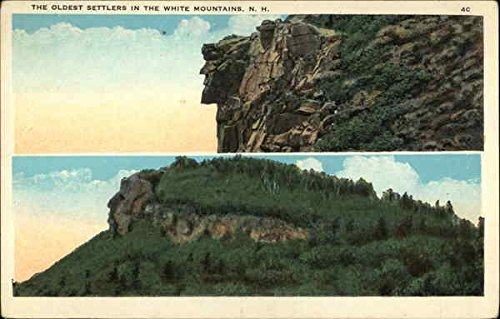 The Oldest Settlers in the White Mountains White Mountains, New Hampshire Original Vintage - Hampshire Settlers New