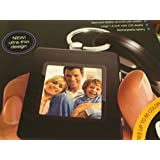 Sharper Image USB 2.0 Digital Photo Keychain -- Store and Display 60 Photos