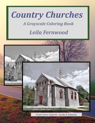 Download Country Churches: A Grayscale Coloring Book pdf