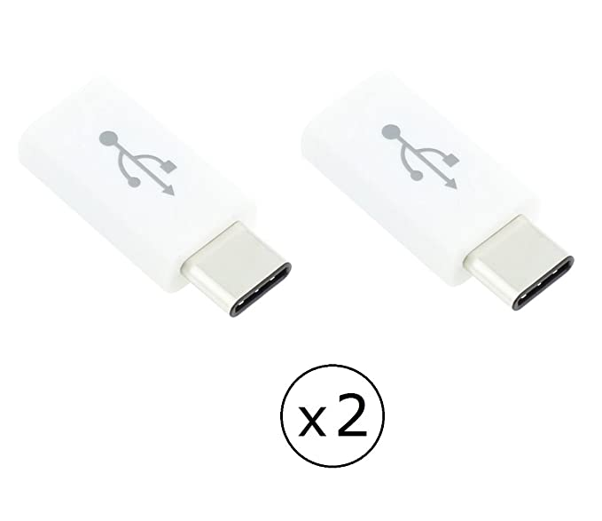Amazon 2 Pack Type C Usb C To Micro Usb 20 Female Adapter