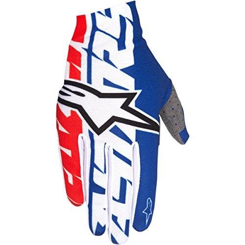 Alpinestars Unisex-Adult Dune-1 Gloves (Black/White/Red, ()