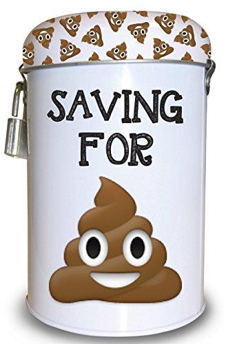 Shoe Fund Money Box (Money Tin ~ Fund/Fines/Tips/Savings/Box ~ With Padlock ~ SAVING FOR SHT)