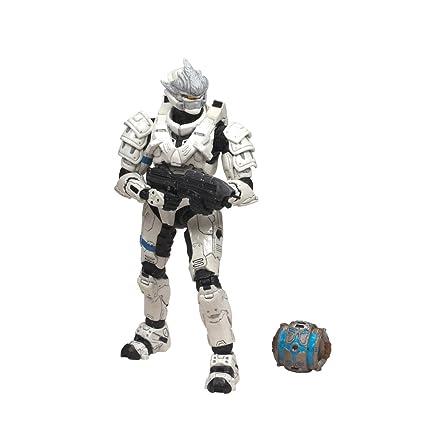 McFarlane Toys Halo 2009 Wave 2 - Series 5 Equipment Edition Spartan  Soldier Hayabusa Figure