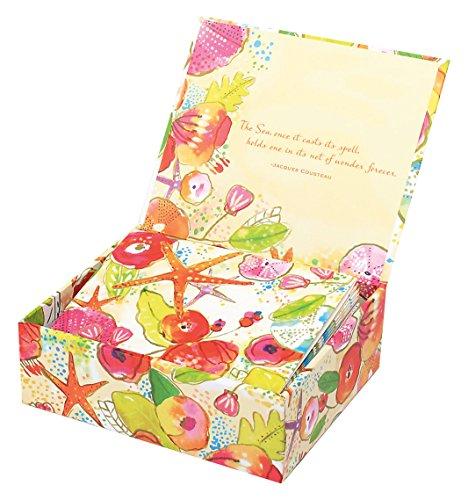 Mudlark 20 Count Finch Island Memento Note Cards in Keepsake ()