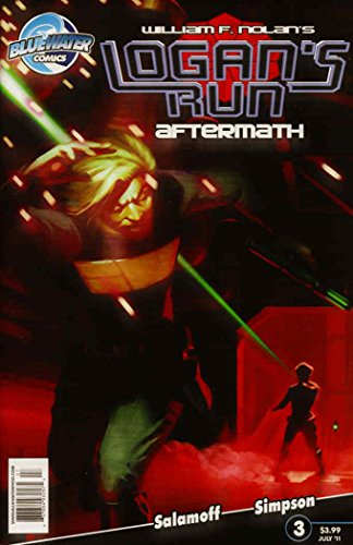 Logan's Run: Aftermath #3 VF ; Bluewater comic book