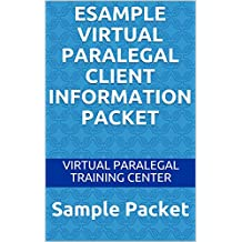 eSample Virtual Paralegal Client Information Packet: Sample Packet