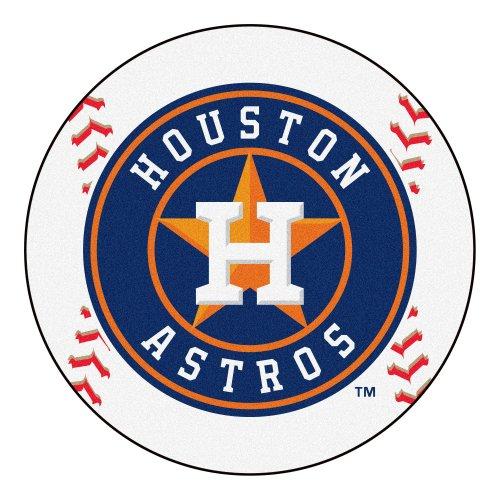 Rug Astros Mat Houston Baseball (FANMATS MLB Houston Astros Nylon Face Baseball Rug)