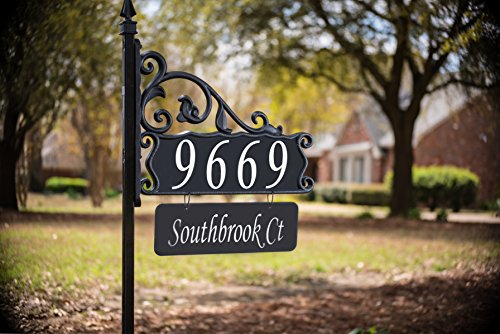 Outdoor Lighted Address Numbers in Florida - 5