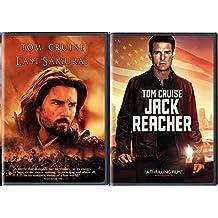 The Last Samurai + Jack Reacher DVD 2 Pack War Movie Tom Cruise Action Set