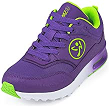 Zumba Women's Air Classic Fashion Dance Workout Shoes with Max Impact Protection