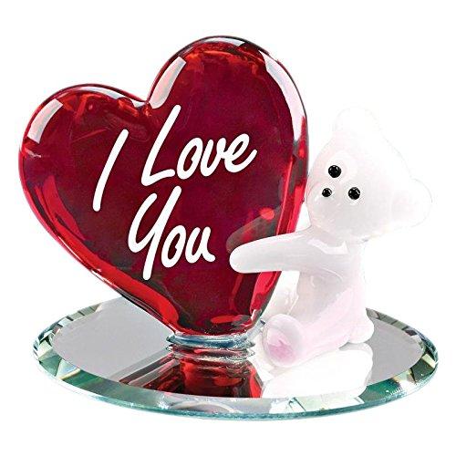 Glass Baron Bear I Love You