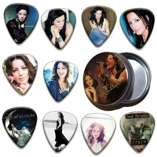 Sarah McColgan 10 X Guitar Plectrums & Tin ( Ltd. To 100 ) ()