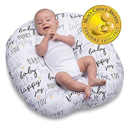 Boppy Original Newborn Lounger, Hello Baby Black and...