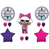 XL Birthday Party LOL Balloons Decoration Supplies Diva