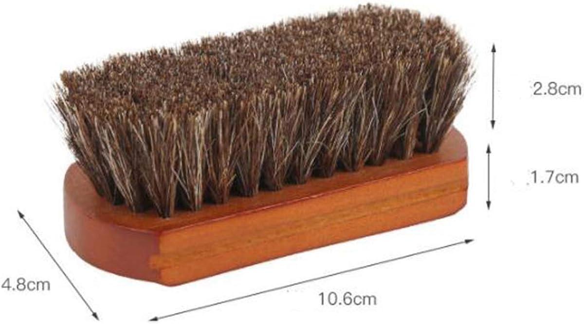 ACMEDE 2er Set Nubukb/ürste mit Kreppauflage und Wildlederb/ürste Raulederb/ürste aus Holz