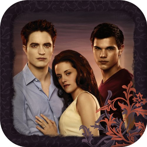 Twilight Breaking Dawn Party Plates - Twilight Movie Dinner Plates