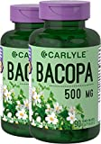 Carlyle Bacopa Monnieri Herb 500 mg 180 Capsules Review