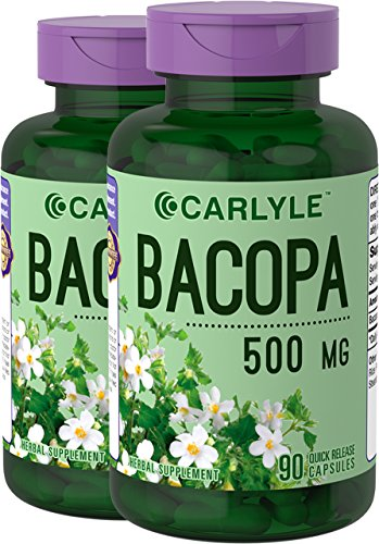 Carlyle Bacopa Monnieri Herb 500 mg 180 Capsules