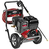 Briggs & Stratton 20507 Elite Series 4.0-GPM 4000-PSI Gas Pressure Washer with 2100 Series OHV 420cc Engine and Triplex Pump, Engine Oil Included
