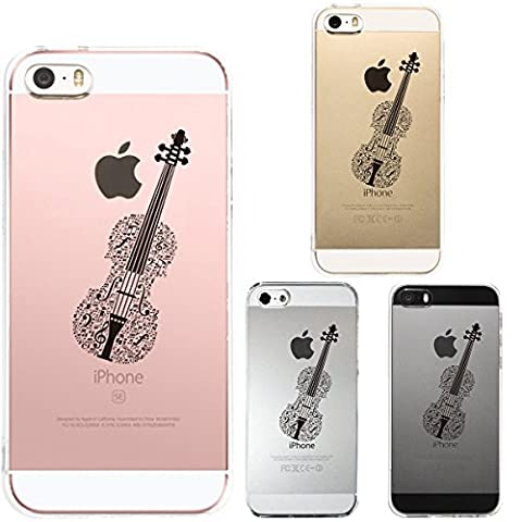 Iphone Se Iphone5s /5 Shell Case Anti-Scratch Clear Back for Iphone Se Iphone 5s /5 Violin (Alexander Delay)