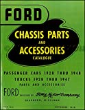 """1928 1929 1930 1931 1932 1933 1934 1935 1936 1937 1938 FORD MOTORS FACTORY PASSENGER CAR MASTER PARTS & ACCESSORIES CATALOG - MANUAL - """"GREEN BIBLE"""" ALL MODELS - BODY & CHASSIS"""