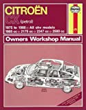 Citroen CX Owner's Workshop Manual