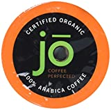 WILD JO: 72 Cup Organic Dark French Roast Single Serve Coffee for Keurig K-Cup Brewers, Bold Strong Rich Wicked Good! Keurig 1.0 & 2.0 Eco-Friendly Cup, Our Most Popular, No Additives, Non-GMO