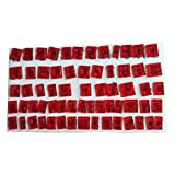 FLY 64PCS Uppercase and Lowercase letters Cake Cookie Cutter Fondant Tools