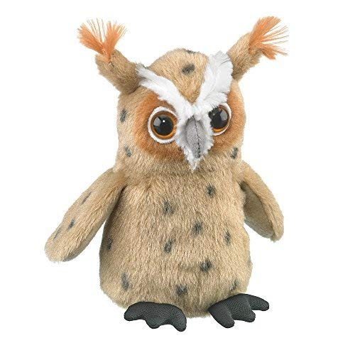 Great Horned Owl Animals - Wildlife Artists Great Horned Owl Plush Finger Puppet Toy, 5.5