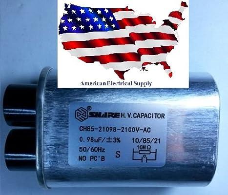Nuevo horno microondas H.V. Condensador de alta tensión modelo ...