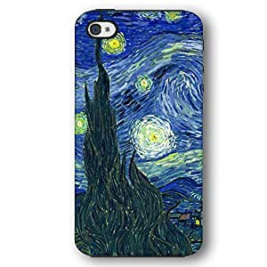 Vincent Van Gogh Starry Night iPhone 4 and iPhone 4S Armor Phone Case by lolosakes
