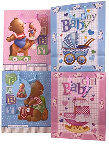 Medium 12 Pieces Baby Gift Bag