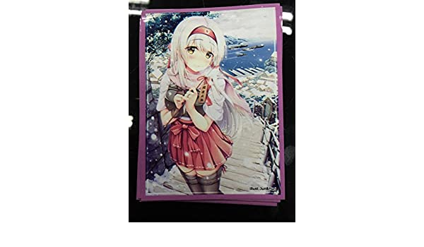 MTG WOW Kantai Collection KanColle Shouk Card Sleeves  60 pieces 67x92mm 60
