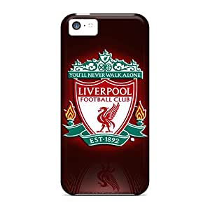 Fashion Protective Liverpool Fc Case Cover For Iphone 5c